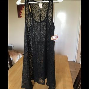 NWT cute OP lace coverup size XL